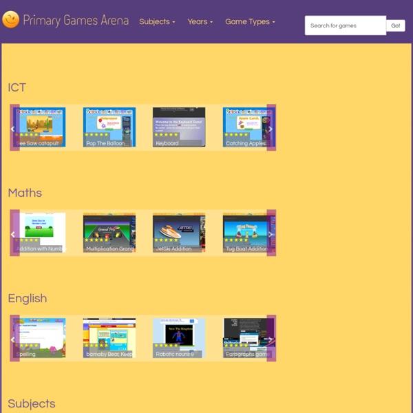 Primary Games Arena - Fun Curriculum Games