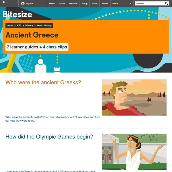Primary History - Ancient Greeks