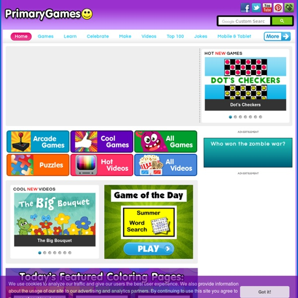 PrimaryGames: Free Games and Videos