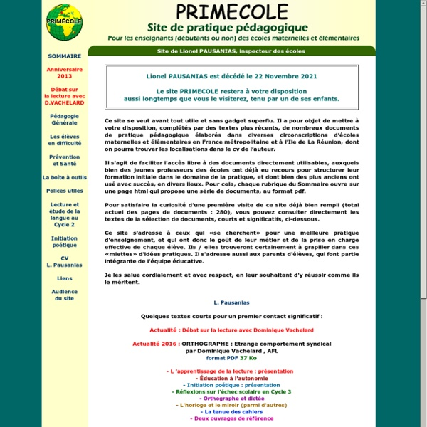 PRIMECOLE