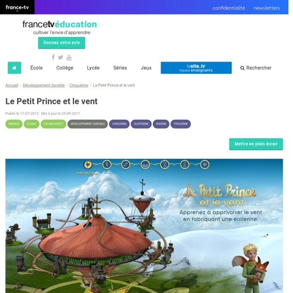 Le Petit Prince et le vent