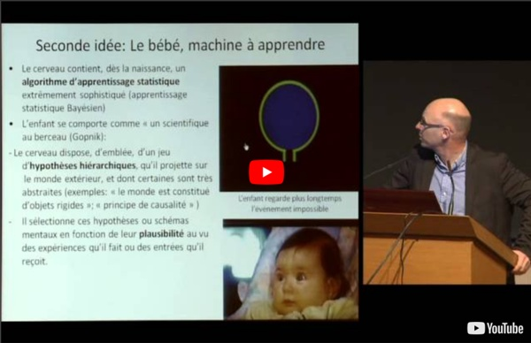 Les grands principes de l'apprentissage [conf. video 37']