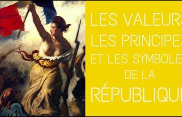 3ème - Les valeurs, les principes, les symboles de la République Française