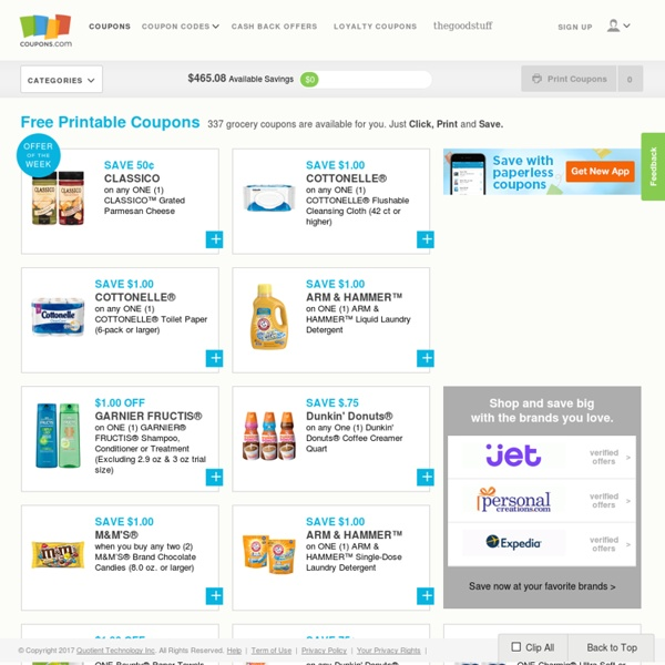 Free Printable Coupons Grocery Coupons Online Coupons Pearltrees