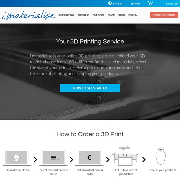 3D Printing Service i.materialise