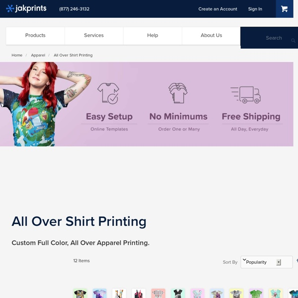 All-Over Shirt Printing