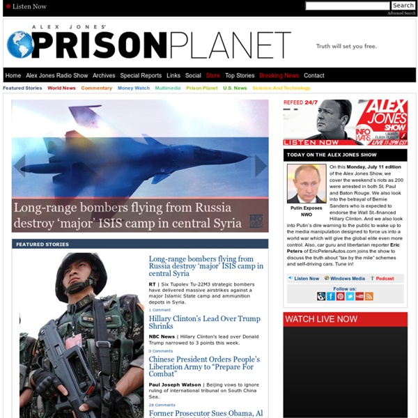 Alex Jones' Prison Planet.com
