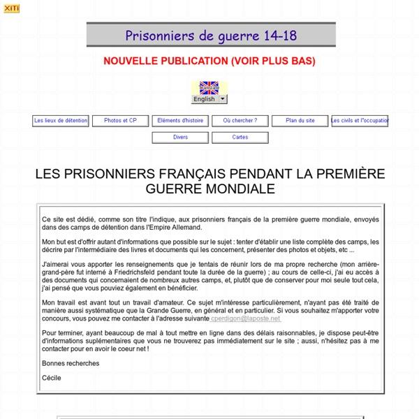 Prisonniers de guerre français 1914-1918