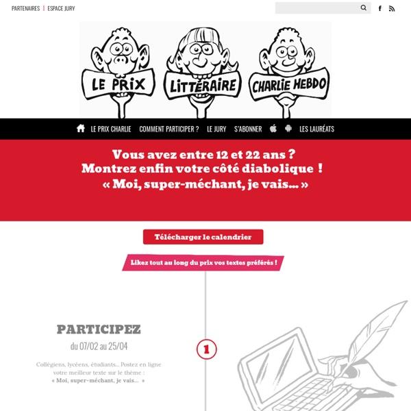 Le Prix littéraire Charlie Hebdo
