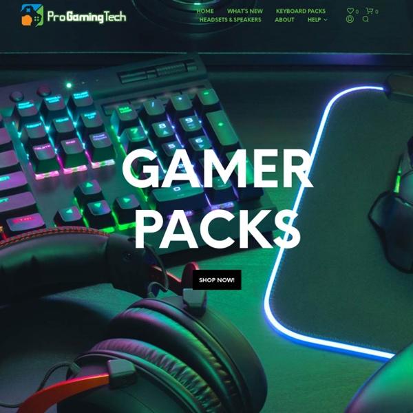 Pro Gaming Tech