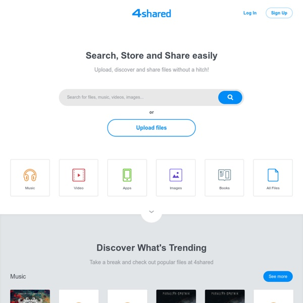 4shared.com - partage et stockage gratuits de fichiers