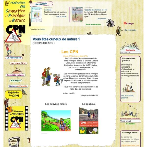 Bienvenue à la FCPN, à l'école de la nature — FCPN