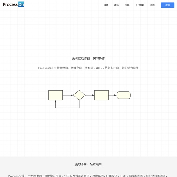 ProcessOn - Create diagrams online in real-time!