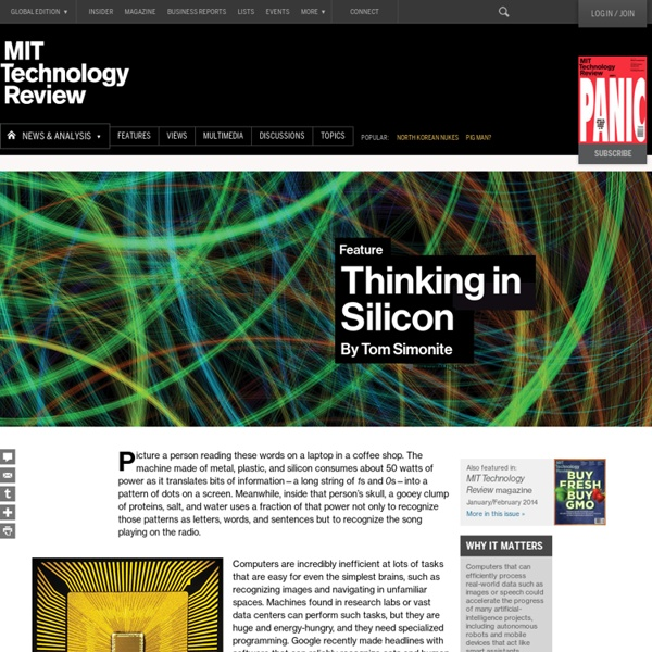 Processors That Work Like Brains Will Accelerate Artificial Intelligence - Page 4