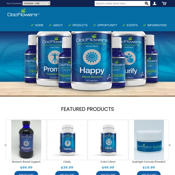 Herbal Products and Supplement Supplier in USA – DocFlowers