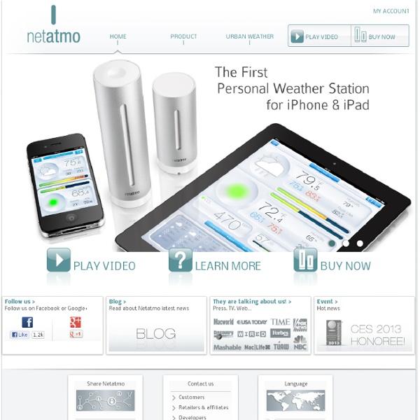 Station Météo et Thermostat pour smartphones - Netatmo