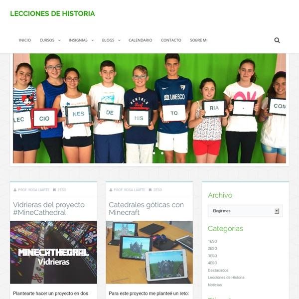 Lecciones de Historia - blog de ciencias sociales, geografía e historia con material de apoyo para alumnado y profesorado de ESO y Bachillerato