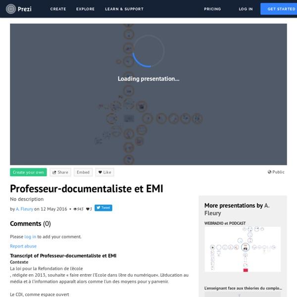 Prof doc et EMI (CLEMI)