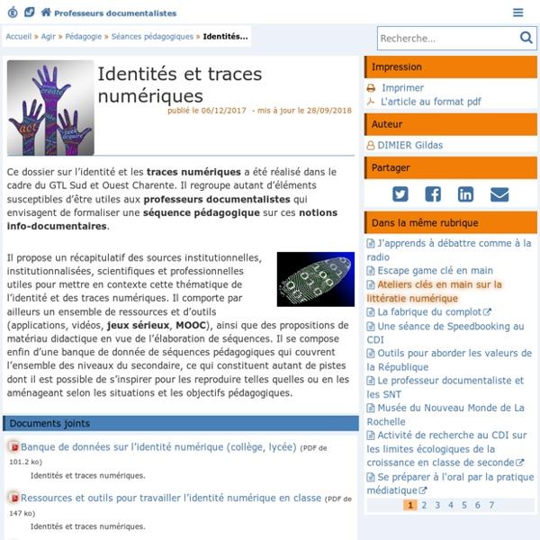 Progression pour la validation des compétences EMI- Les Enseignants Documentalistes de l'Académie de Poitiers