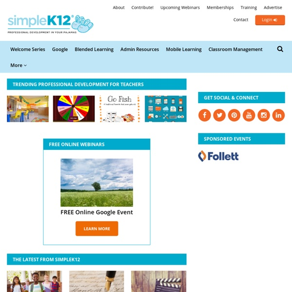 SimpleK12.com - Professional Development For Teachers