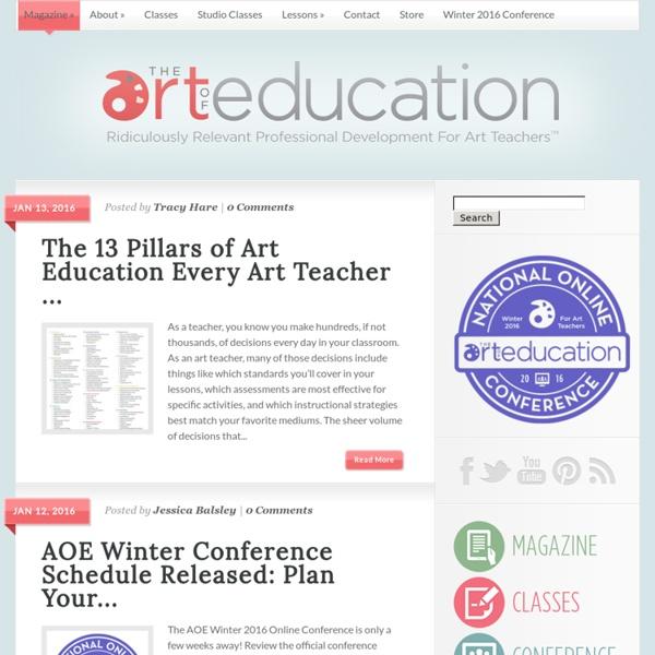 Professional Development for Art Teachers
