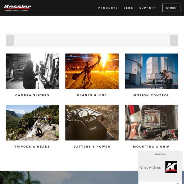 Kessler Crane - Quality Professional Camera Cranes, Camera Jib and Camera Support Products