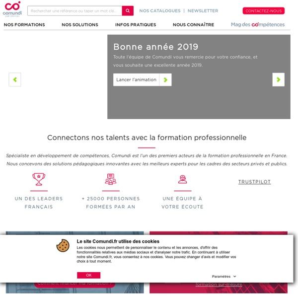 Comundi Compétences : formation professionnelle et développement des compétences
