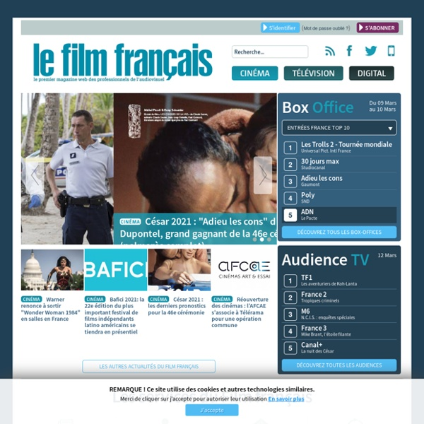 Le film français : le premier magazine web des professionnels de l'audiovisuel