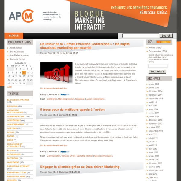 APCM Association des professionnels de la communication et du marketing