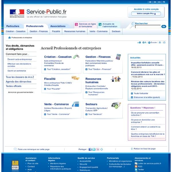 Pme.service-public.fr