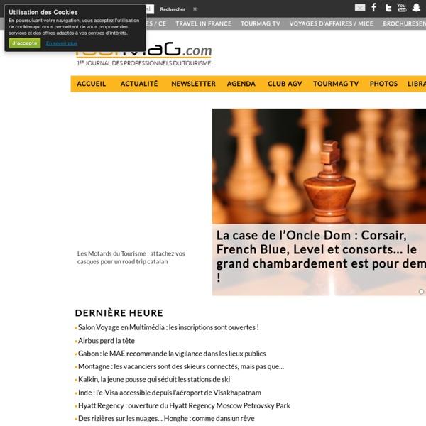 TourMaG.com, 1er portail des professionnels du tourisme francophone