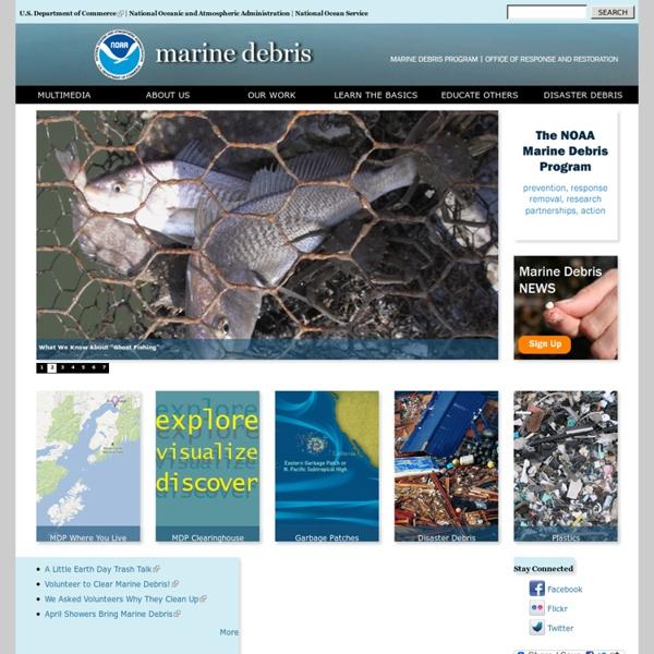 NOAA Marine Debris Program - Welcome