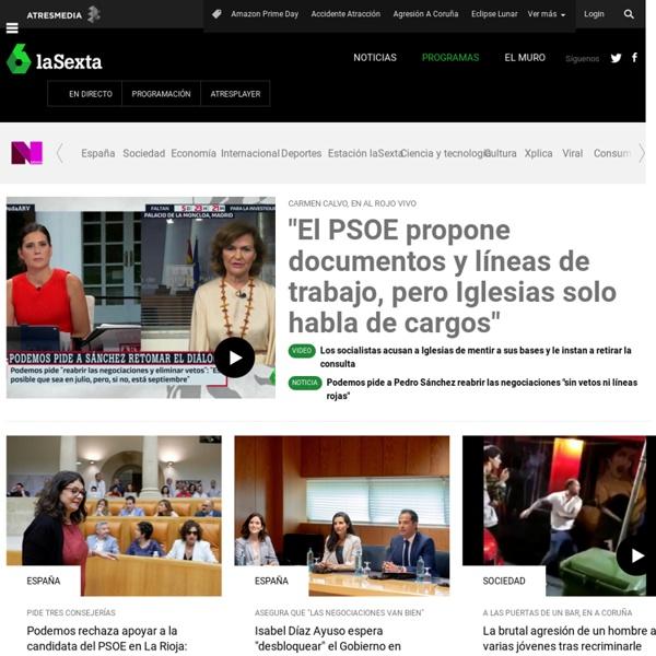 LA SEXTA TV. Series, Xplora, Programas TV, Videos, Cine