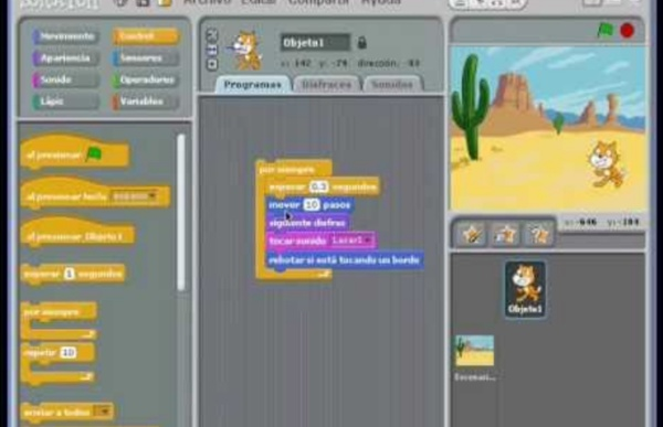 Tutorial Scratch - Programacion Divertida