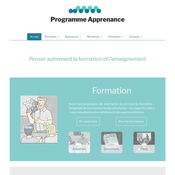 Programme Apprenance