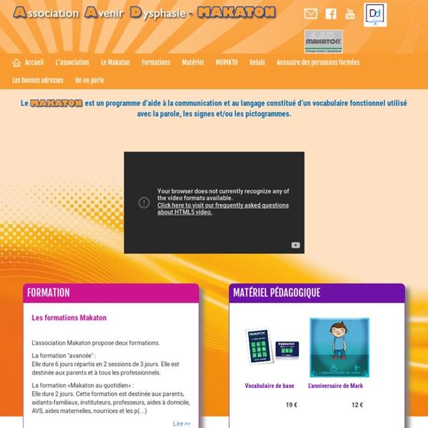 Makaton - Programme d'aide à la communication et au langage