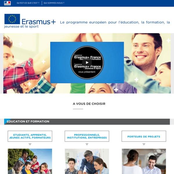 Erasmus+ - Programme de l'Union européenne pour l'éducation, la formation,la jeunesse et le sport