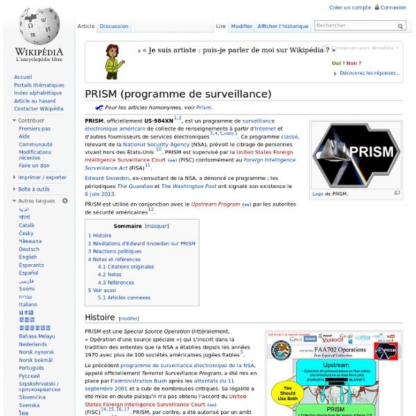 PRISM (programme de surveillance)