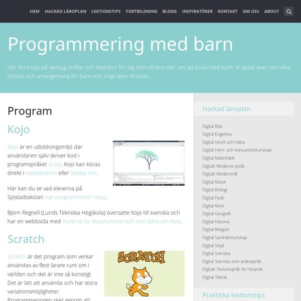 Programmering med barn