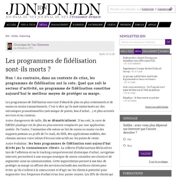 Les programmes de fidélisation sont-ils morts ?