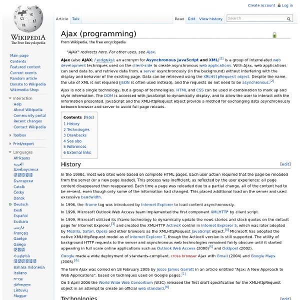 Ajax (programming)