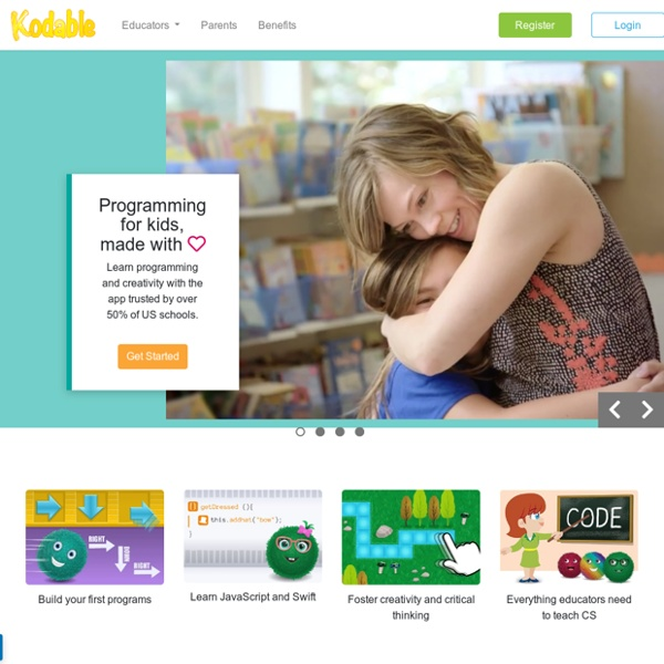 Kodable: Programming Curriculum for Kids