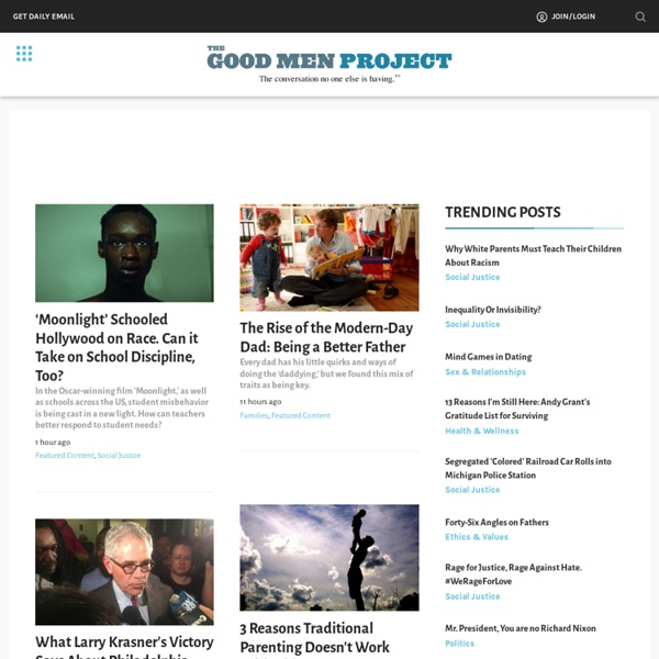 The Good Men Project —
