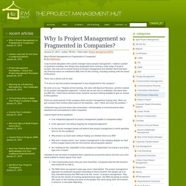 Project Management Articles - PM Hut