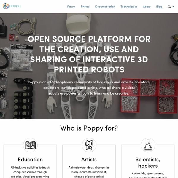 Open source 3D printed and modular robotic platform