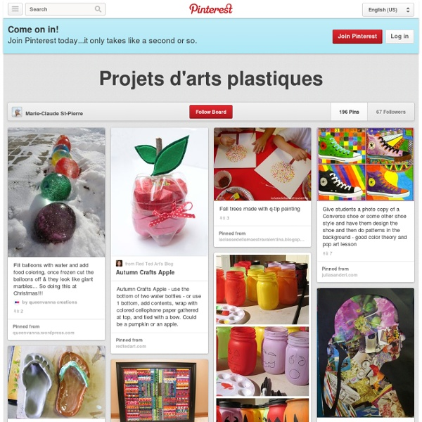 Projets d'arts plastiques
