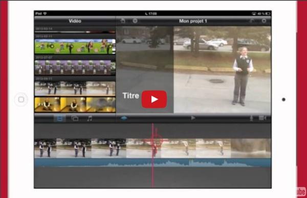 Des projets vidéos avec iMovie pour iPad