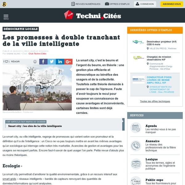 Les promesses à double tranchant de la ville intelligente (2/2)