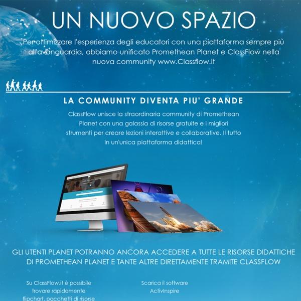 Risorse didattiche per LIM : Promethean Planet Italia