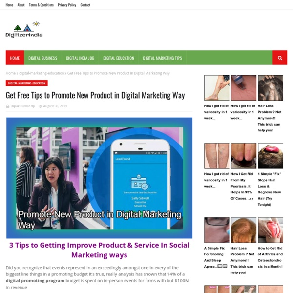 Get Free Tips to Promote New Product in Digital Marketing Way